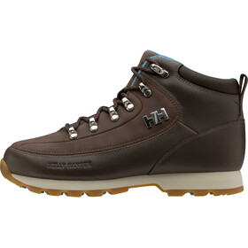 Helly Hansen The Forester Sko Damer, coffee bean/tundra blue